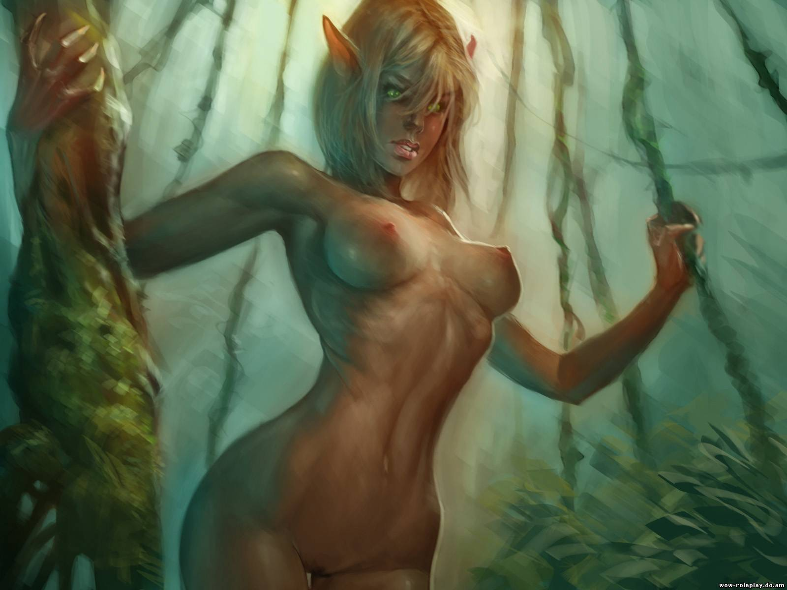 Nude sci-fi fantasy art cartoon videos